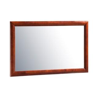 Atlantic Mirror in Walnut - Brown - A/N