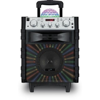 iLive Wireless Tailgate Speaker with Disco Ball
