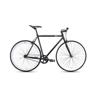 6KU Shelby-2 Black Fixed Gear Bicycle