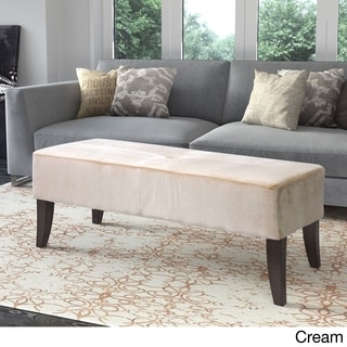 Antonio 46-inch Wide Velvet Upholstered Bench