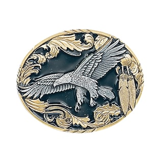 Vivatone Eagle with Feathers Metal Belt Buckle