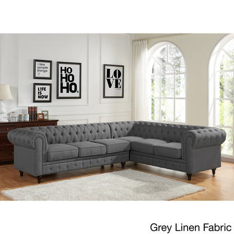 Buy Grey, Americana Sectional Sofas Online at Overstock ...