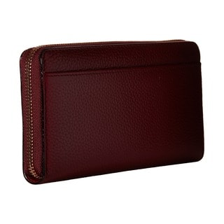 Kate Spade Women's New York York Cobble Hill Lacey Red Leather Merlot Wallet