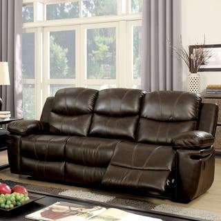 Sofas couches loveseats for less for Canape oxford honey leather sofa