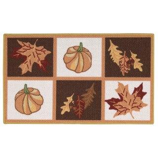 Nourison Essential Elements Multicolor Accent Rug (1'5 x 2'4)