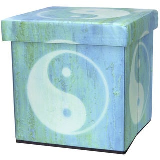 Yin Yang Storage Ottoman (China)