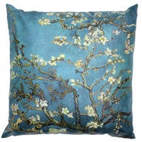 Van Gogh 'Almond Blossoms' Pillow (China)
