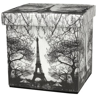 Eiffel Tower Storage Ottoman (China)