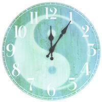 Yin Yang Wall Clock (China)