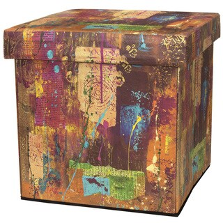 Handmade India by Gita Storage Ottoman (China)