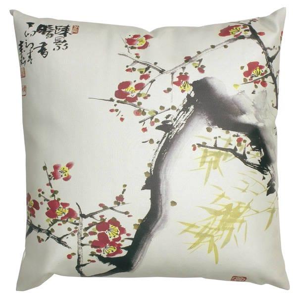 Handmade Cherry Blossom Pillow