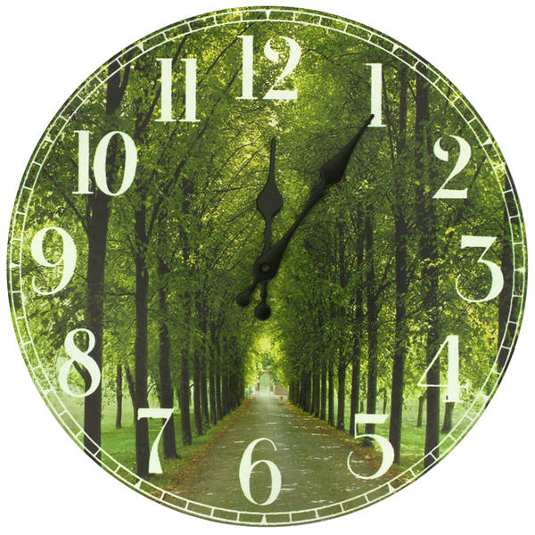 Handmade Path of Life Wall Clock