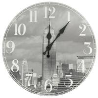 Handmade Empire State Building Wall Clock (China)