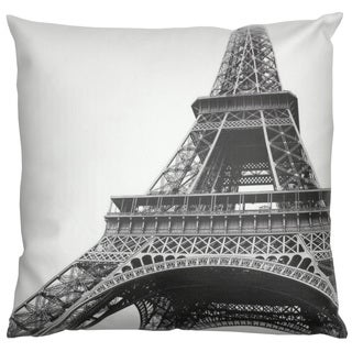 Eiffel Tower Throw Pillow (China)