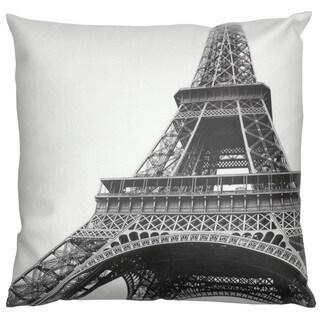 Handmade Eiffel Tower Throw Pillow (China)