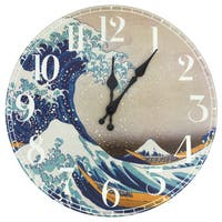 Great Wave off Kanagawa Wall Clock (China)