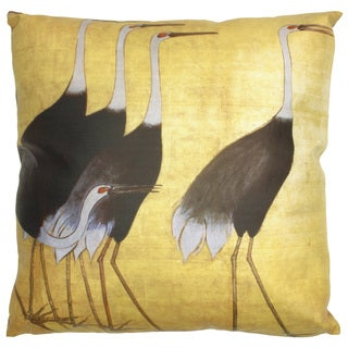 Walking Cranes Pillow (China)