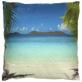 Caribbean Beach Pillow (China)