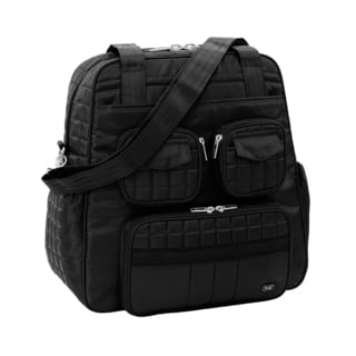 Lug Puddle Jumper Midnight Black Overnight Duffel Bag