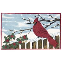 Nourison Enhance Cardinal Blue Accent Rug (1'5 x 2'4)