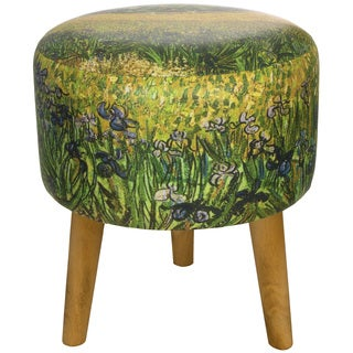 Van Gogh Irises Stool (China)