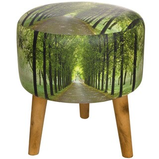 Handmade Path of Life Stool (China)