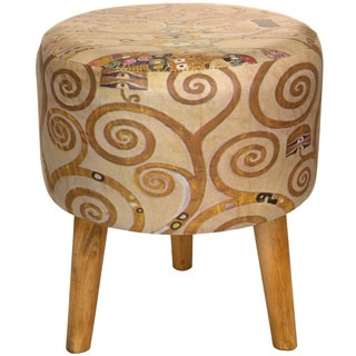 Klimt 'Tree of Life' Stool (China)