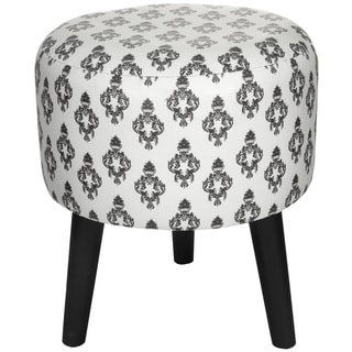 White Damask Stool (China)