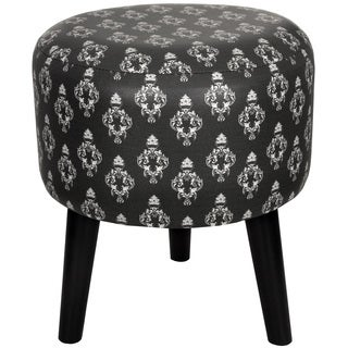 Black Damask Stool (China)
