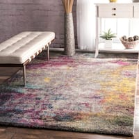 nuLOOM Contemporary Abstract Multi Rug - 8' x 10'