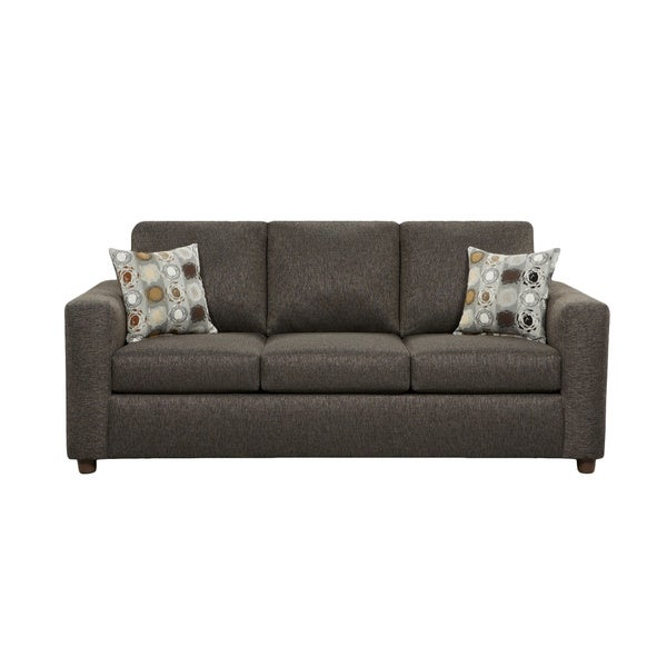 Shop Chester Charcoal Grey Sofa With Matching Accent