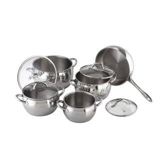 Kuchen Stainless Steel 9-piece Cookware Set