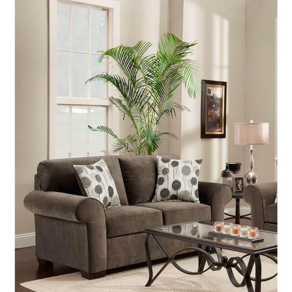 Excellent Shop Cleo 2 Piece Ash Grey Reversible Sofa Chaise And Uwap Interior Chair Design Uwaporg