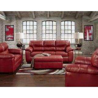 Copper Grove Bissingen 4-piece Red Sofa Set