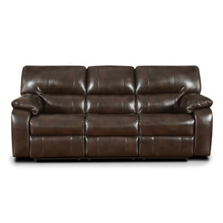 Sofa Trendz Conan Chocolate Reclining Sofa
