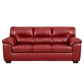 Sofa Trendz Corina Red Sleeper Sofa