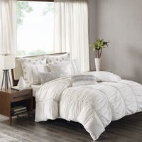 INK+IVY Reese White Cotton Comforter Mini Set