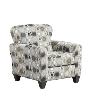 Sofa Trendz Chester Multicolored Polyester Blend Accent Chair
