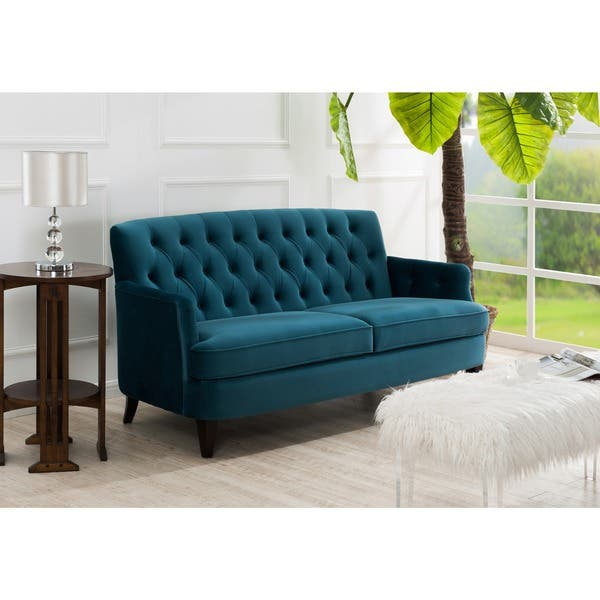 Fantastic Shop Jennifer Taylor Kelly Tufted Sofa On Sale Free Spiritservingveterans Wood Chair Design Ideas Spiritservingveteransorg