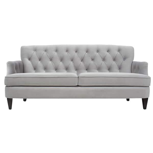 Strange Shop Jennifer Taylor Kelly Tufted Sofa On Sale Free Theyellowbook Wood Chair Design Ideas Theyellowbookinfo