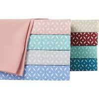 Home Dynamix Chelsea Loft Collection Hotel Diamond Pattern Sheet Set (6 or 4 piece set)