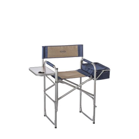 Kamp-rite High Back Director's Chair with Table and Cooler