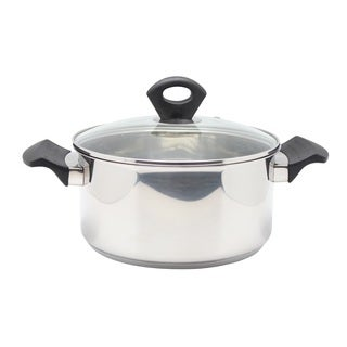 Stainless Steel 9.8-quart Covered Sauce Pot