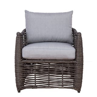 Somette Amalfi Single Seat Wicker Chair