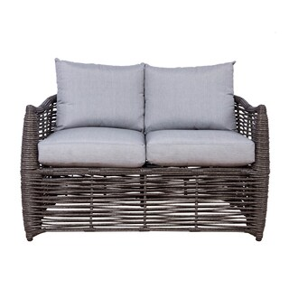 Somette Amalfi Wicker Loveseat
