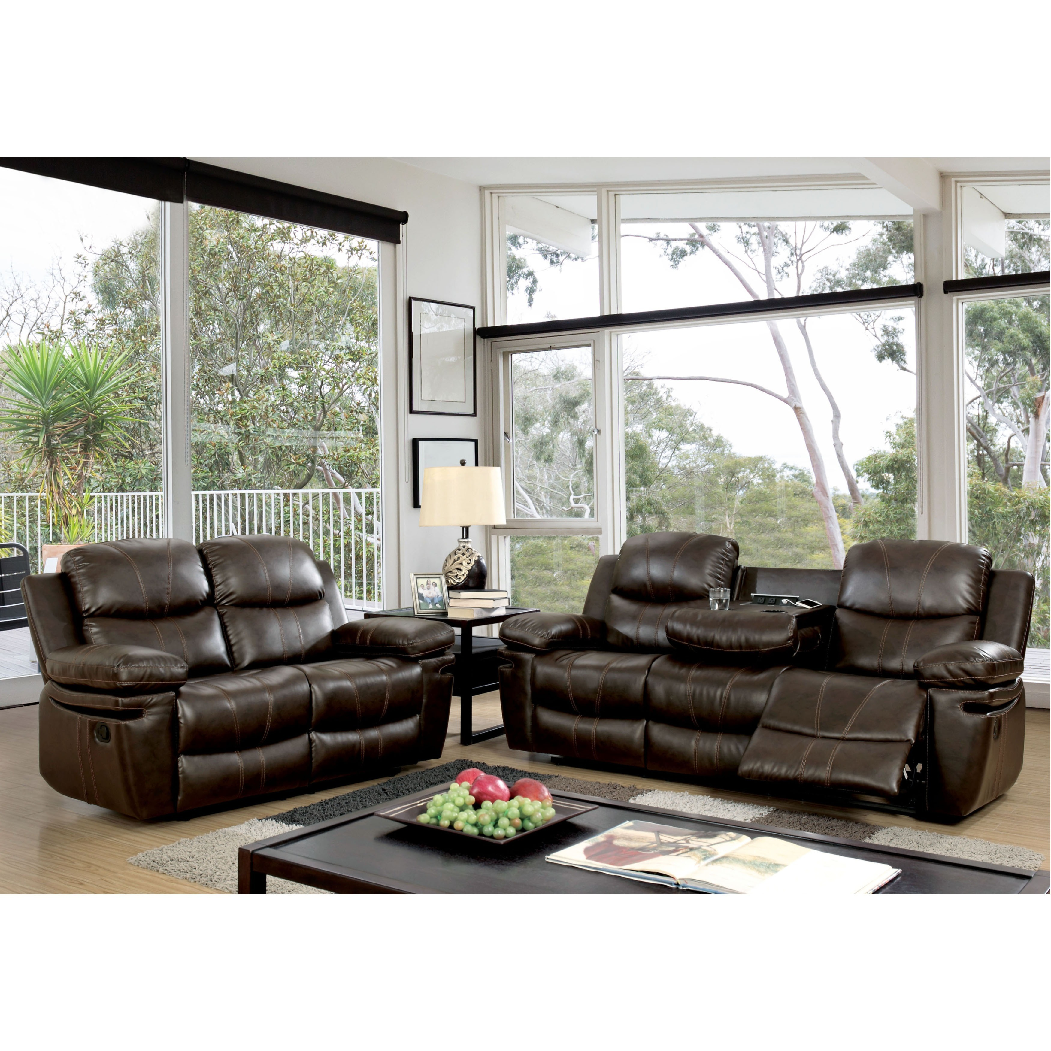 Reclining sofa chair living room sofa modern set recliner - Fabric reclining living room sets ...