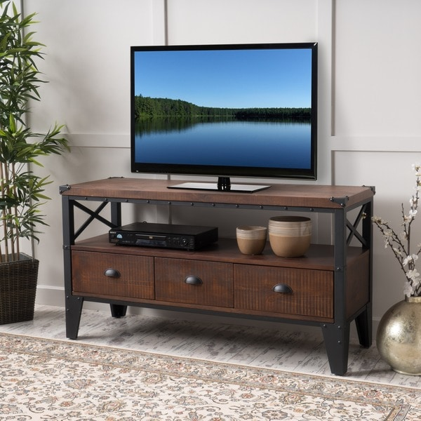 Shop Winston Wood TV Console Stand by Christopher Knight