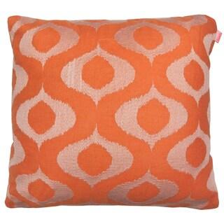 Tyra by Artistic Linen Embroidered Decorative Linen-blend Throw Pillow