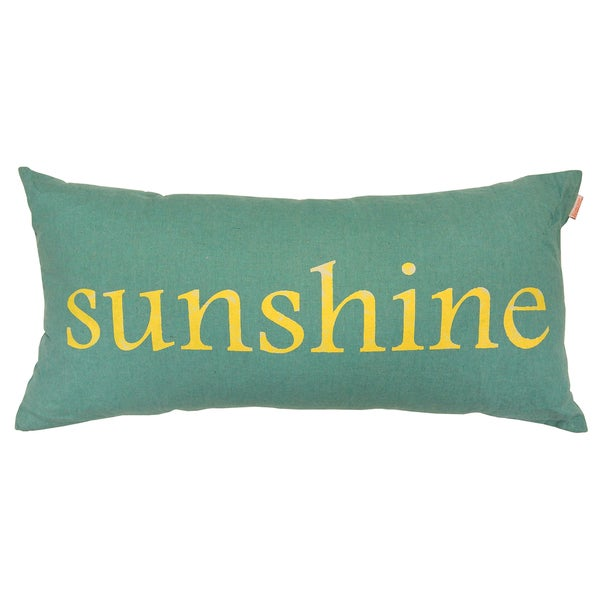 Artistic Linen Sunshine Decorative Throw Pillow