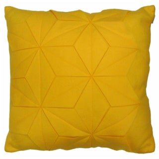 Origami by Artistic Linen Felt Origami Decorative Pillow